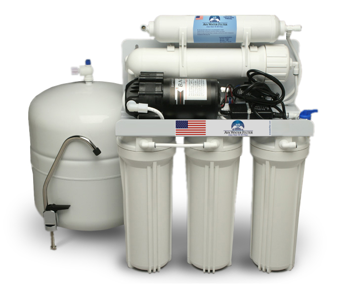5 Stage Reverse Osmosis Drinking Water System With Pump